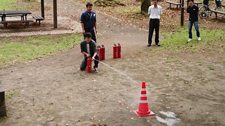 防災訓練を行いました
